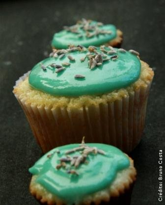 Muffin de Mel e Lavanda